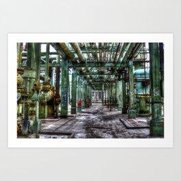 Pipe Rack Art Print