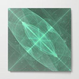 Green Galaxy of Sir Douglas Fresh [Torus of Love Version] Metal Print