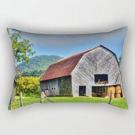 Rural Barn Rectangular Pillow