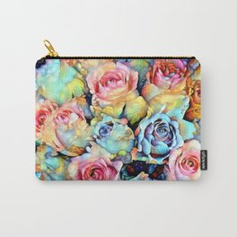 For Love of Roses Carry-All Pouch