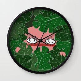 Peek-A-Boo! Wall Clock