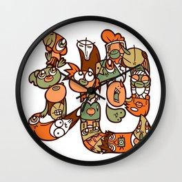 地 - EARTH Wall Clock