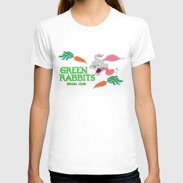 Green Rabbits Social Club - Band Logo T-shirt
