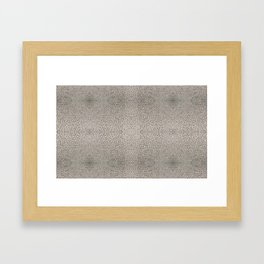 Photo Pattern - Condensation Cube Water Droplets Framed Art Print