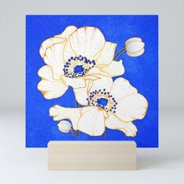 Ultramarine Blue :: Anemones Mini Art Print