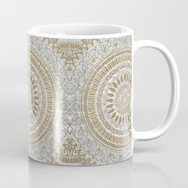 Elegant hand drawn tribal mandala design Coffee Mug