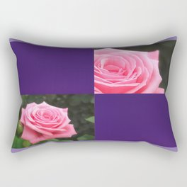 Pink Roses in Anzures 4 Blank Q9F0 Rectangular Pillow