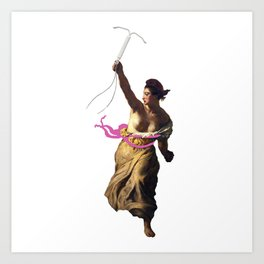 IUD Liberty Art Print