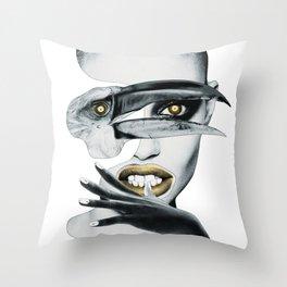 The Ornithologist Throw Pillow
