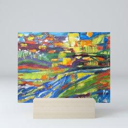 City of Sun Mini Art Print
