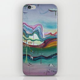 The Land of the Unicorns iPhone Skin