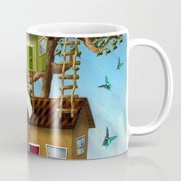 Home Sweet Tiny Tree Houses Coffee Mug