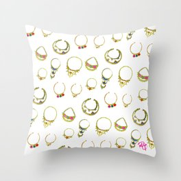 Septum Vibes Throw Pillow