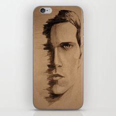 HALF FACE iPhone & iPod Skin