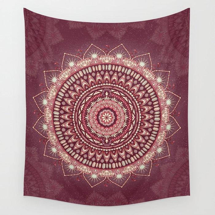 Crystalline Harmonics - Celestial Wall Tapestry