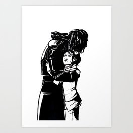 DISHONORED- Stronger When You Hold Her Art Print