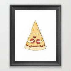 Sexy Pizza Framed Art Print