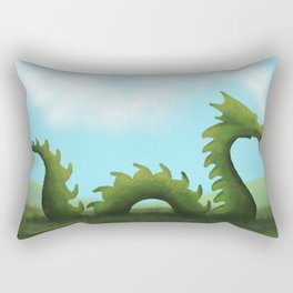 Dreams Of A Dragon Rectangular Pillow