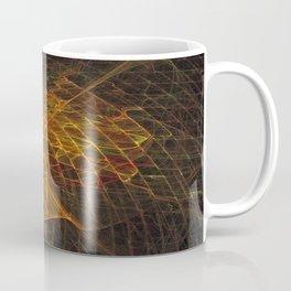 Gold Netting Coffee Mug