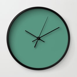 Christmas Green Holly and Ivy Wall Clock