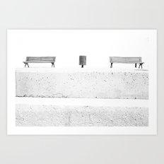 seats Art Print