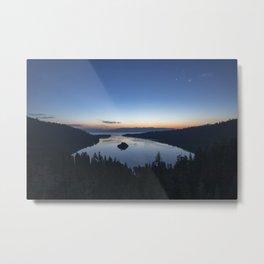Sunrise over Emerald Bay Metal Print