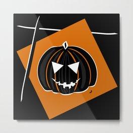 Pumpkin - Halloween Collection Metal Print