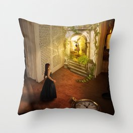 The book of dreams Throw Pillow