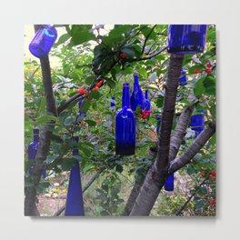 When Blue Bottles Fly Metal Print