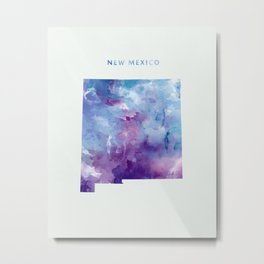New Mexico Metal Print