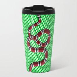 Green carbon shark Travel Mug