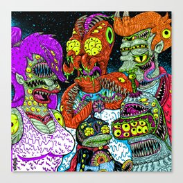 Future Monsters Canvas Print