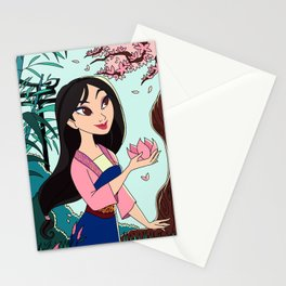 Into The Woods: Mulan Stationery Cards