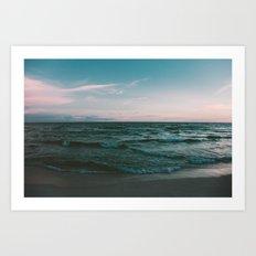 Beach Life IV Art Print