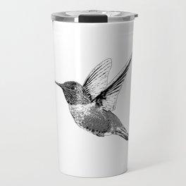 Hummingbird-Flying-Bird-Animal,Nectar-Flower Travel Mug