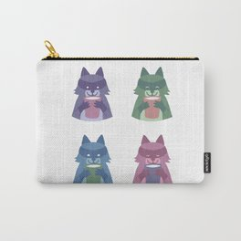 racoon with milk Carry-All Pouch