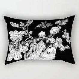 Fig Tree and the Fruit Bat Rectangular Pillow