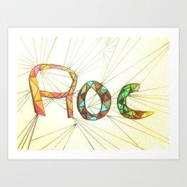 Roc Art Print