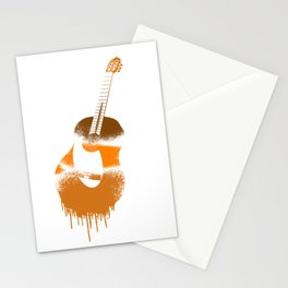 Spanish Guitar Stationery Cards