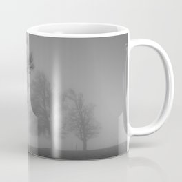 Morning Mist Trees - Landscape Photography Coffee Mug
