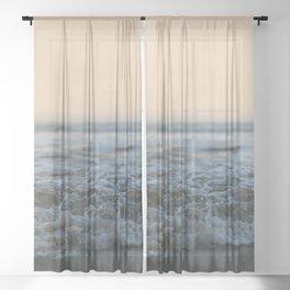 Sunrise Ocean Sheer Curtain