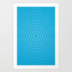 Concentric  Art Print