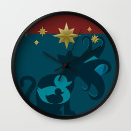 Duck, Duck, Goose Wall Clock