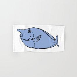 Unicorn fish illustration Hand & Bath Towel