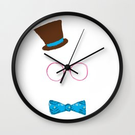Invisible Nerd Wall Clock