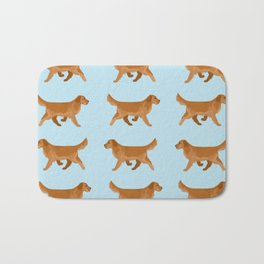 Golden Retriever Love Bath Mat