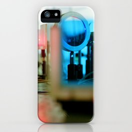 Lasers2 iPhone Case