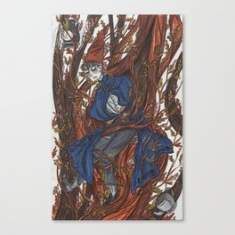 Wirt in the Edelwoods Canvas Print