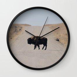 Native Crosser Wall Clock