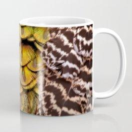 Peacock Tail Feathers Coffee Mug
